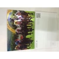 Quality 0.6MM PET 3D Lenticular Postcards / 3d animation picture With CMYK Printing for sale