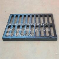 """Buy cheap Class E600 duracoated extra heavy-duty 12"""" x 24"""" [305mm x 610mm] cast iron grate from wholesalers"""