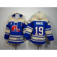 China cheap wholesale NHL Quebec Nordiques 19 Sakic Hoodies Jersey wholesale