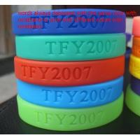 China Customized designs and logo 100% Silicone chain bracelet for women wholesale