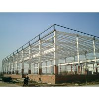 China Movable Prefabricated Industrial Steel Structures Fire Resistence Painted Single Layer Floors wholesale