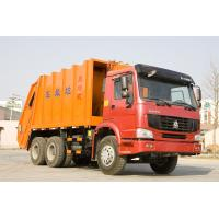 China 6X4 Safety Steel Garbage Compactor Truck With 16m3 Large Loading Capacity wholesale