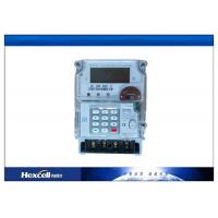 China Prepaid Energy Meter Using Smart Card Documentation Two Way Communication / Prepayment Meters wholesale