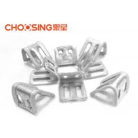 China Galvanized 23mm Upholstery Spring Clips 0.8 - 1.0mm Thickness Long Lifetime wholesale