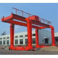 Buy cheap Electric Box Girder Gantry Crane for Construction Sites from wholesalers