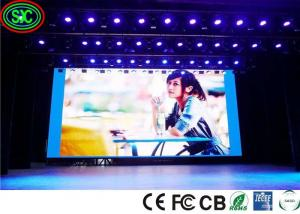 China High Refresh Rate over 3840hz Audio Visual P3.91 P4.81 Stage Led Video Wall Panel Screensl For Wedding Events on sale