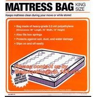 China Mattress Bags Chair Sofa Cover Dust Cover Sheet , Mattress Storage Disposable Bags wholesale