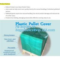 China customized PE pallet cover bag, Waterproof pallet covers/ Poly Bags, Plastic Pallet Covers Gusseted Pallet Covers Pallet wholesale