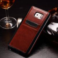 China TPU Soft Samsung Note 5 Back Cover , Wallet Function Card Slot Phone Case on sale