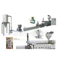 China PP PE Granules Production Line , Plastic Waste Recycling Granulating Making Machine wholesale
