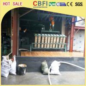 China 20 Tons Per Day Fishery Ice Block Machine , Industrial Ice Maker Machine wholesale