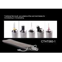 Multifunction SS Autoclave Universal Microblading Manual Holder  for PMU Or Tattoo WIth Bevel Blade