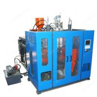 China Automatic blue plastic Extrusion Blowing Moulding Blow Molding Machine wholesale