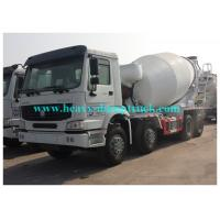 China Sinotruk Howo brand Concrete Mixing Truck 8CBM 371 HP whilte color or red color wholesale