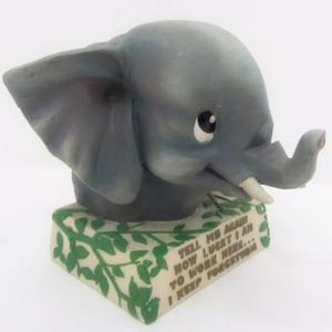 China Polyresin Elephant Figurine Decoration (SFR0649) wholesale