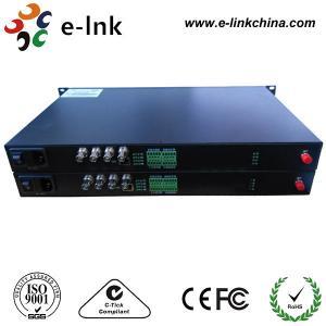 China 100M Ethernet Sdi Audio To Optical Fiber Converter 4Ch Forward 3G SDI Backward wholesale