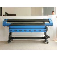 China Eco Friendly DX5 Eco Solvent Inkjet Printers With CMYK Color / Dye Sublimation Ink wholesale