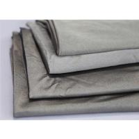 Quality silver fiber antibacterial conductive fabric for anti radiation clothes 60DB at 3GHZ for sale