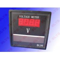 Voltage Frequency Meter : Ac dc digital voltage ampere frequency panel meter of