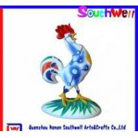 China polyresin rooster figurines wholesale