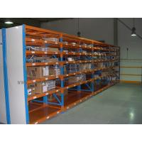 China 7 Level Stainless Steel Shelving With Side Panel Blue / Orange / Grey Color on sale
