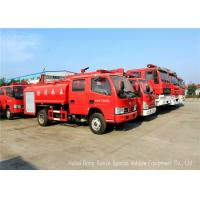 China Water Tanker Fire Fighting Truck For Fire Service With Water Pump And Fire Pump wholesale