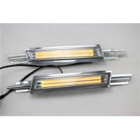 China Yellow Daylight Guide Led Daytime Running Lights For VW CC 2014 - 2015 wholesale