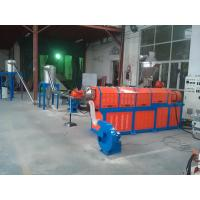 China Filler Masterbatch Plastic Granules Making Machine Twin Screw Extruder CE SGS wholesale