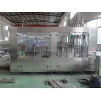 China 3 - in - 1 monobloc water  bottle filling machine , pure water production line 500ml wholesale