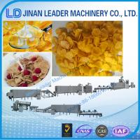 China Low consumption maize flakes making machine corn flakes production process on sale