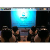 China Installing 5D Cinema Equipment With Thrilling And Exciting Roller Coaster Movie wholesale