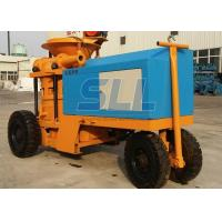 Quality Piston Type Wet Mix Shotcrete Machine / Cement Sprayer Machine Less Wearing Parts for sale