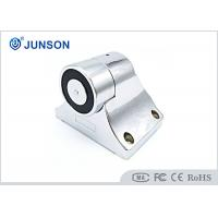 China JS-H37A-S Electromagnetic Door Holder Shine Silver Plating With Alarm Action wholesale