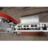China Smooth Incision Steel Wire Straightening Cutting Machine , Cold Wire Drawing Rebar Straightening Machine on sale