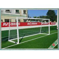Buy cheap Rust Protection Soccer Field Equipment Removable 11 Man Soccer Goal Post from wholesalers