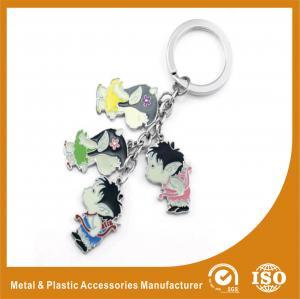 China Zinc Alloy Souvenir Gift Custom Metal Keychains For Children wholesale