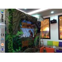 Quality Stimulating Thriller 6D Movie Theater With Lightning / Rain Digital Special Effect for sale