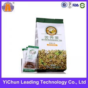 China Tea packaging oem plastic side gusset seal bag wholesale