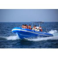 China Ferrying Orca Hypalon Inflatable Sailing Boat Rib960C With Passengers Seats wholesale
