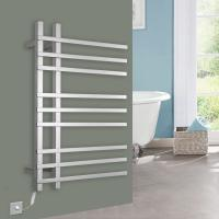 Quality 9 Bars Pratical stainless steel wall mounted Electric heated towel warmer for sale