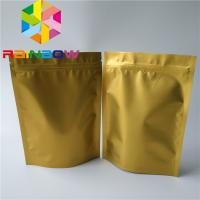 Poly Ziplock Mylar Plastic Pouches Packaging Aluminum Foil Stand Up Zipper Bag