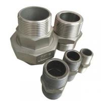 China Stainless Steel Hydraulic Forged Equal Hex Male Thread Double Nipple Pipe Fitting wholesale