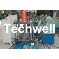 China Gimbal Gearbox Drive U Channel Cold Roll Forming Machine for Steel U Channel, U Section, U Profile wholesale