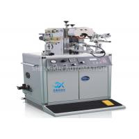 China Plastic Manual Heat Transfer Printing Machine Rotary Letterpress Structure wholesale