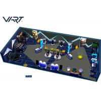 China One - Stop Multiplayer 9D VR Theme Park With CE RoSH / Amusement Park Equipment on sale