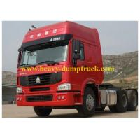 China 6 cylinder Engine 6x4 Howo Tractor Truck with 400 Al fuel tank with warranty wholesale