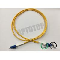 China LC / UPC - LC / UPC OS2 Single Mode Optical Patch Cord 2f Zip 2.0mm Ofnr Corning Smf-28 Ultra wholesale