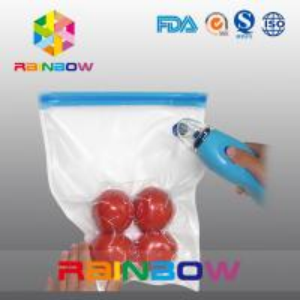 China Plastic food vacuum seal bags / vacuum food storage packaging wholesale