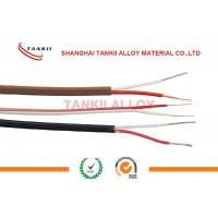 China Compensating Thermocouple Cable Tx Jx Type Strand Conductor SC RC  Red - White wholesale
