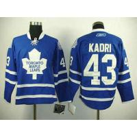 China NHL Toronto Maple Leafs 43# Zazem Kadri blue jersey wholesale